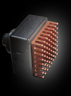 Copper Heat Sink for Mini Cameras