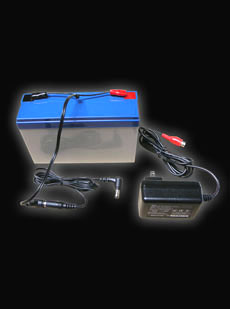 12V, 9A Sealed Lead Acid Battery with Charger and Cable