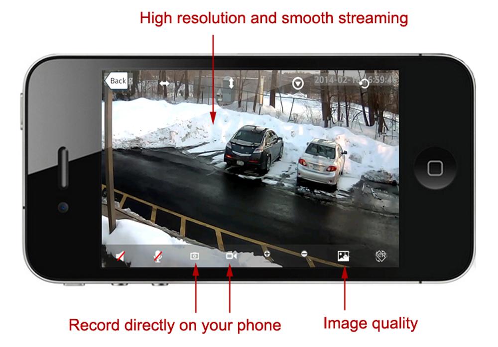 Wi-Fi IP Camera
