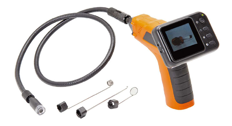 Inspection Snake Camera w/ Wireless Monitor