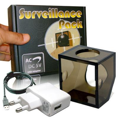 Ball Camera Surveillance Pack