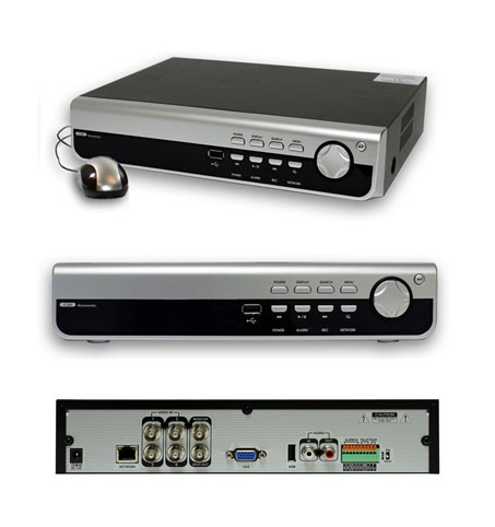 Full Featured H.264 Pentaplex DVR (8CH / 240fs)
