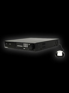 Full Featured H.264 Pentaplex DVR (4CH / 120fs) w/ CD/DVD-RW