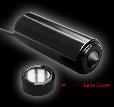 B/W 0.0003 Lux, 1/2in CCD Star Light, High Res, Conical Pinhole Bullet Camera