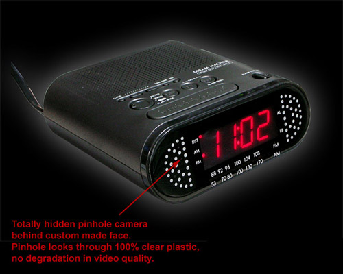 Wireless Clock Camera