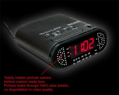 Clock Spy Camera