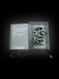 12VDC / 2A / 4 Port Output CCTV Distributed Power Supply