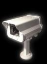 B/W Surveillance Camera