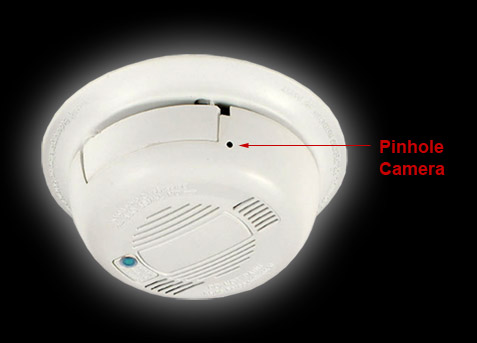 smoke detector covert wi fi digital wireless web camera with recording. Black Bedroom Furniture Sets. Home Design Ideas